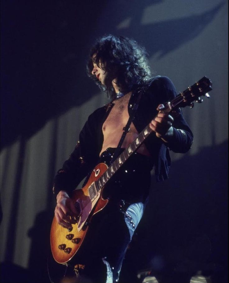 Jimmy Page of Led Zeppelin #JimmyPage #LedZeppelin #LedZep #Zep