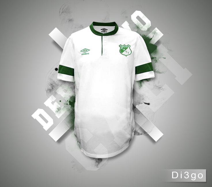 camiseta blanca deportivo cali