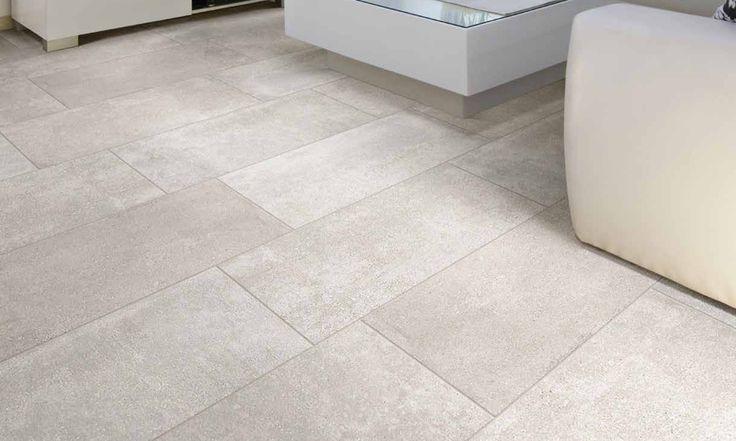 look of concrete tile light grey