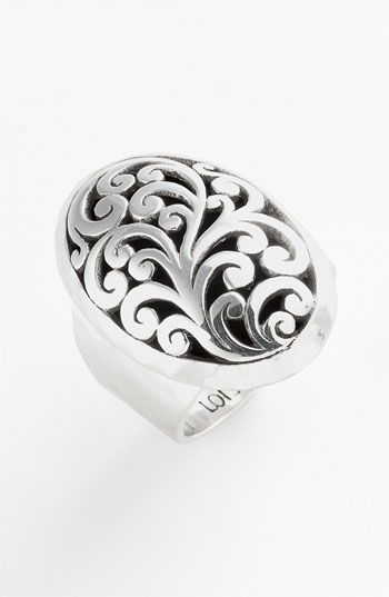 Lois Hill Cutout Oval Ring available at #Nordstrom
