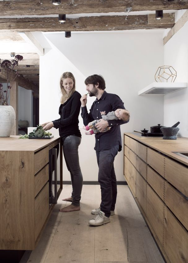 Die besten 25+ Holzfußboden Ideen auf Pinterest Kombi innenraum - k che fliesen ideen