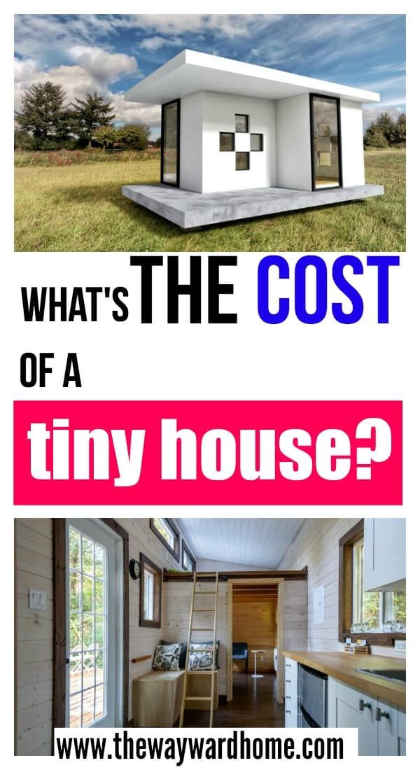 How Much Does A Tiny House Cost Tiny Home Cost House Cost Buy