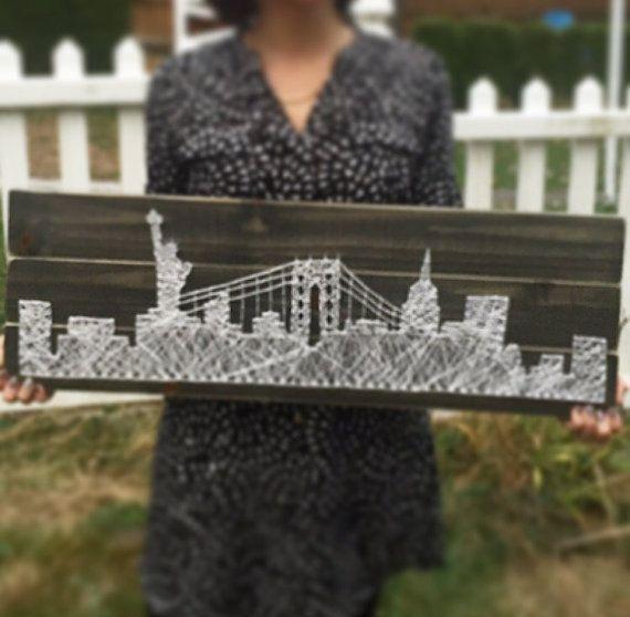 New York New York Skyline della città statua della di SheFlutters