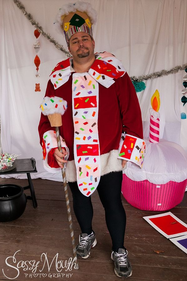 King Candy Costume Candy Land Halloween theme - Strawberry Park Campground -  CT Photographer Sassy Mouth