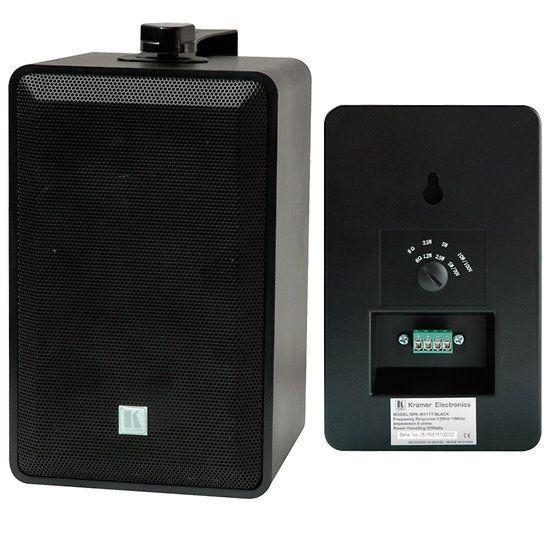 Enceinte de Sonorisation avec transfo ligne 100V, puissance 20W rms 60W en continu, Boomer 10 cm, Tweeter à dôme 25 mm. Enceinte sono livré avec étrier de fixation. Disponible en deux version !