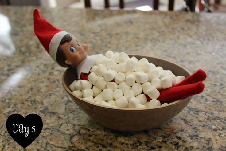 ** Christmas Elf On The Shelf @takemeyourlatte