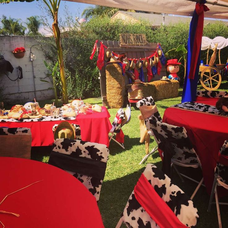 Western Cowboy Birthday Party Ideas | Photo 2 of 29 | Catch My Party