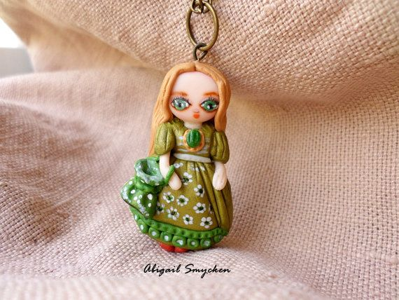 Custom Miniature Figurine Charm FIgurine by AbigailSmycken on Etsy