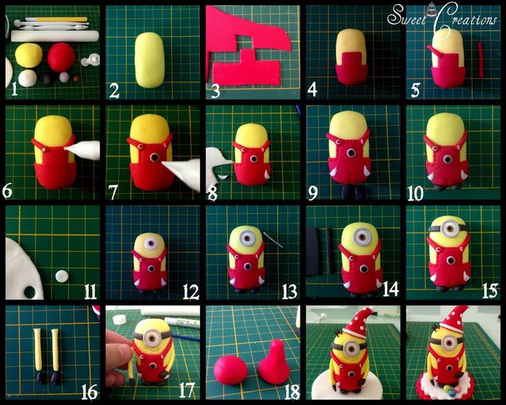 STEP BY STEP  Minions: