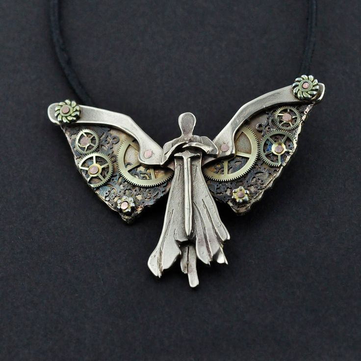 Tessa's Clockwork Angel Pendant...not what I pictured, but still cool..