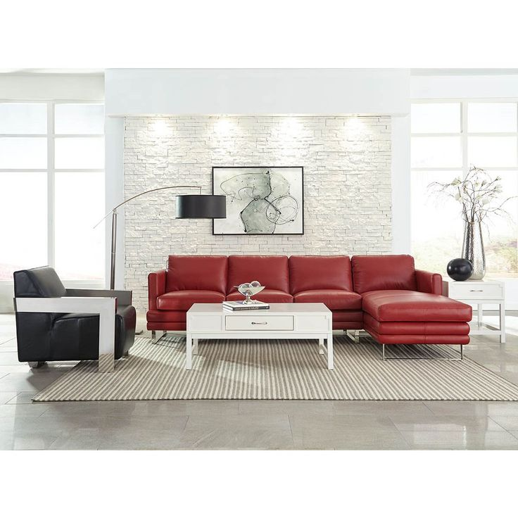 Deep Red Leather Sofas: Best 25+ Red Sectional Sofa Ideas On Pinterest
