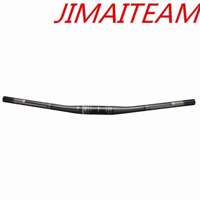 JIMAITEAM Race Level Bar ,9 Degrees Ultra-Light Full Carbon Fiber Mountain Bike Handlebar