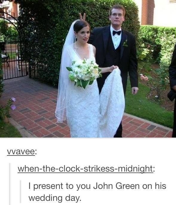 Best of Tumblr John Green edition-- I can't even...