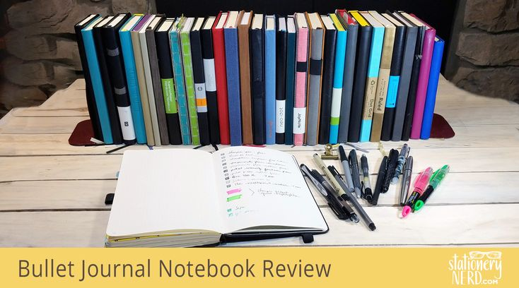 In my quest to find the perfect A5 Bullet Journal dotted notebook I purchased more than 30 journals. There's both hardcover journals and softcover; dotted, lined, blank, and grid. Read my comprehensive review, pen test, and spec sheet.