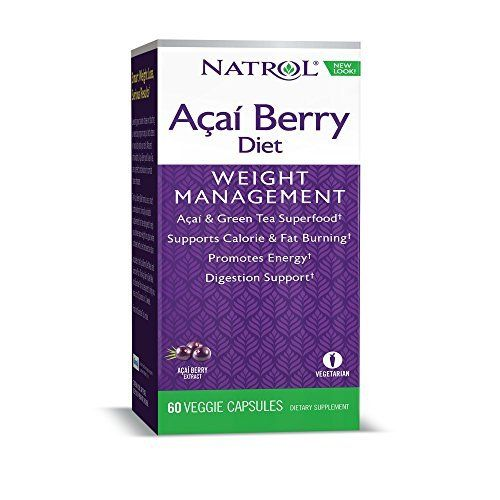 Natrol AcaiBerry Diet supports weight loss goals when combined with a healthy reduced-calorie diet and exercise program. Acai is a wild fruit harvested in the rain forests of Brazil recognized for its high ORAC (oxygen-radical absorbance capacity) value – a measure of its antioxidant... more details at http://supplements.occupationalhealthandsafetyprofessionals.com/vitamins/vitamin-b/vitamin-b6/product-review-for-natrol-acai-berry-diet-60-capsules/