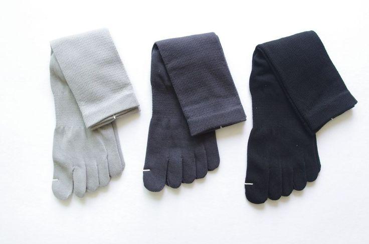 Korean Antibacterial Toes Socks 3Pairs(3Colors) for Men, Made in Korea, TS028 #SUNYEOM #Dress