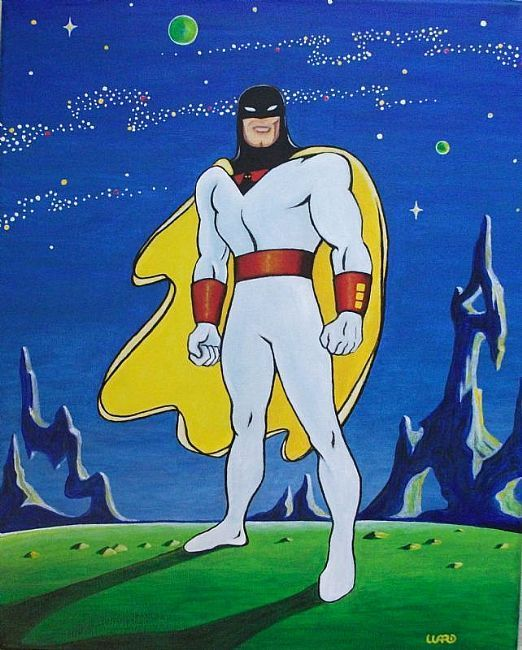 Space Ghost; Never mind that he was a1 trick pony, with Gary Owens voicing him, he rocked anyway! Spaaaace Ghoooost!