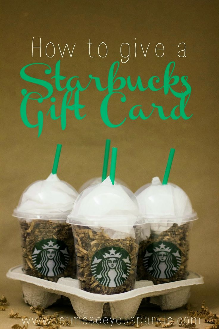 The 25 best starbucks gift ideas ideas on pinterest good secret sparkle raok how to give a starbucks gift card negle Gallery