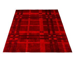Tappeto Funky Weave rosso - 170x120 cm
