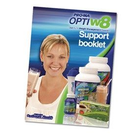 OptiW8 Educational Support Booklet from #Pro-ma #systems #weightloss #Booklet #Optiw8