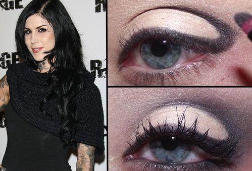 Alternative Smokey Eye Tutorial, Inspired by Kat Von D!