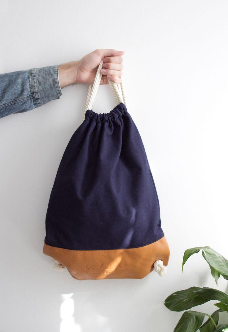 Valise azul & camel. #bagpack #barcelona #valisebags #valisebarcelona