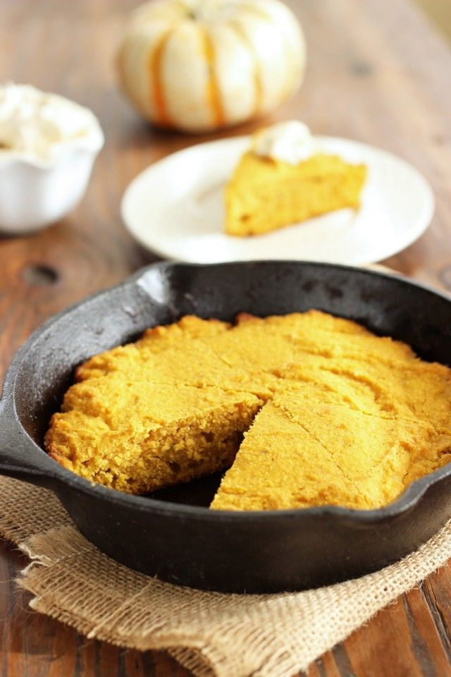 Buttermilk Pumpkin Cornbread with Maple Butter recipe |Craving Something Healthy #fall #autumn #comfortfood #holidays #thanksgiving