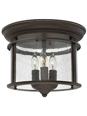 Gentry Flush Mount Ceiling Light With 3 Lights | House of Antique Hardware