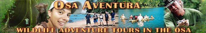 Osa Aventura : Corcovado National Park and Osa Peninsula Tours in Costa Rica