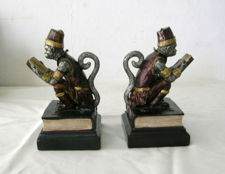 17 Best Images About Bookends On Pinterest Peacocks