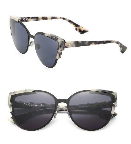 Dior 60mm Wild Dior Cateye Sunglasses Blue              $59.00