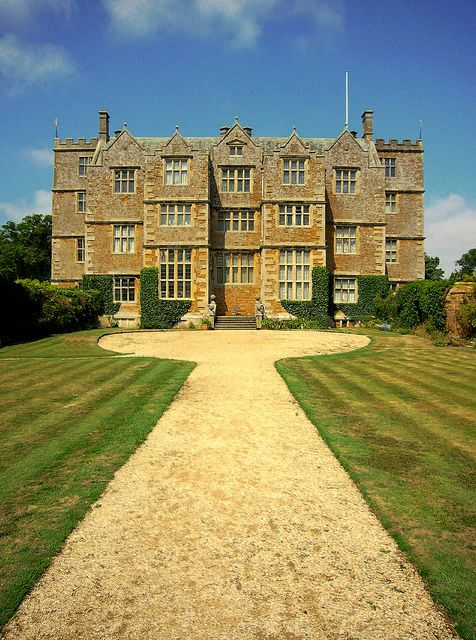 Chastleton House, The Cotswolds, England.