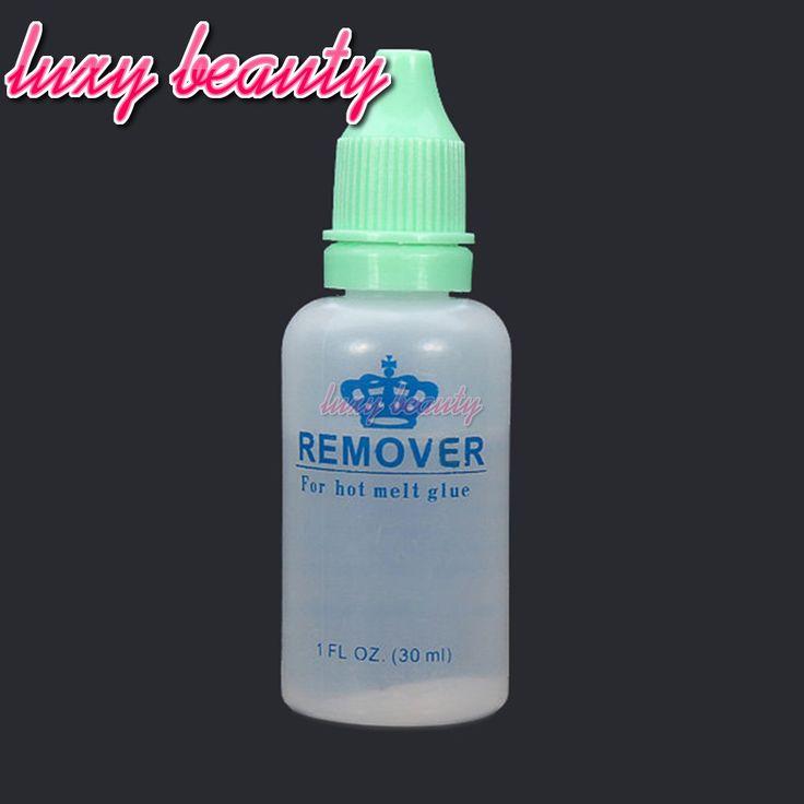 Hot Melt Glue Remover 1 Bottle Fusion Keratin Hair Extensions/Keratin Glue/Fusion Keratin Remover For Keratin Hair Extensions