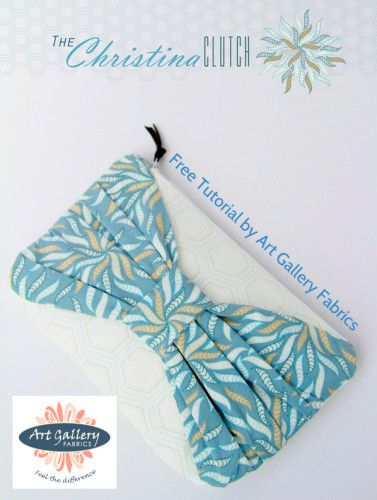 The Christina Clutch – Free Sewing Tutorial | PatternPile.com