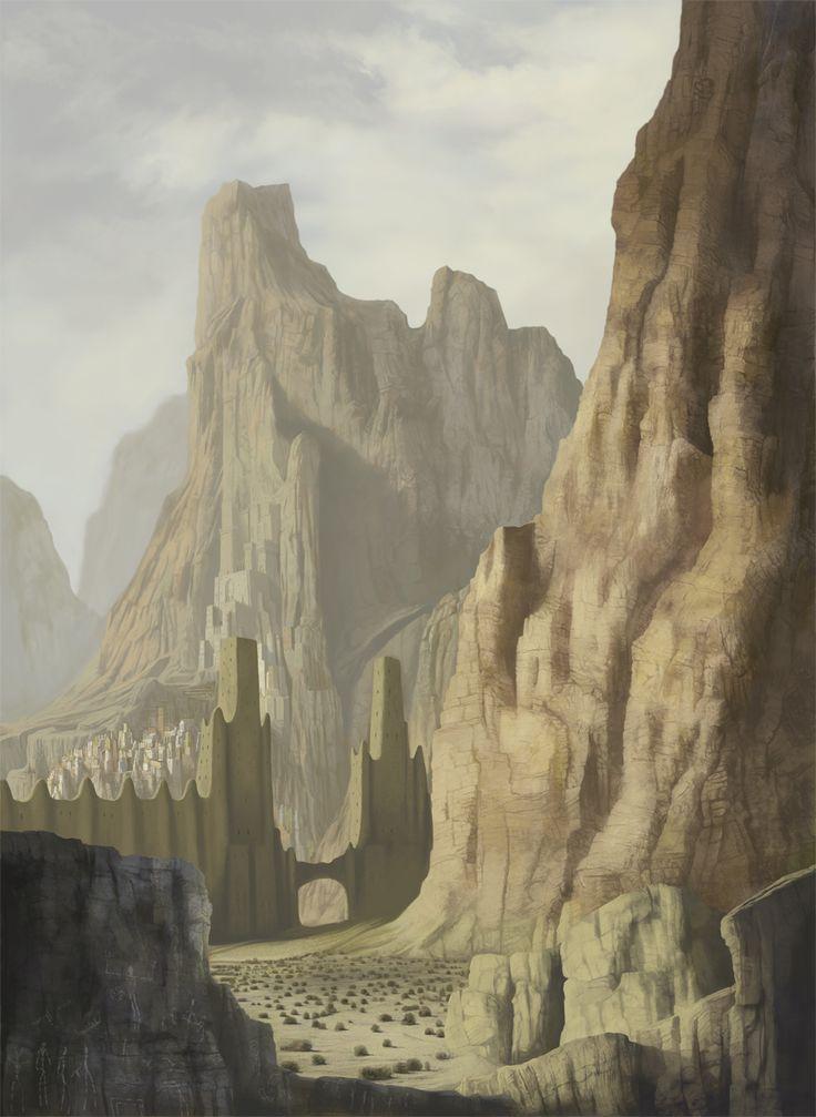 city in the desert by *meisl on deviantART