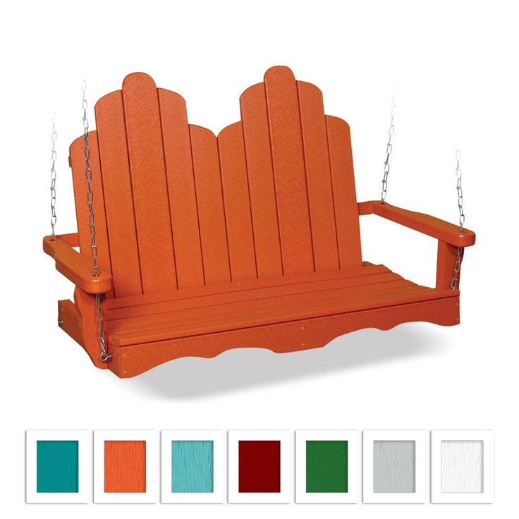 Pompano Adirondack Swing Made By Lakeland Outdoor Furniture U003eu003e This Is  Perfect! Love The