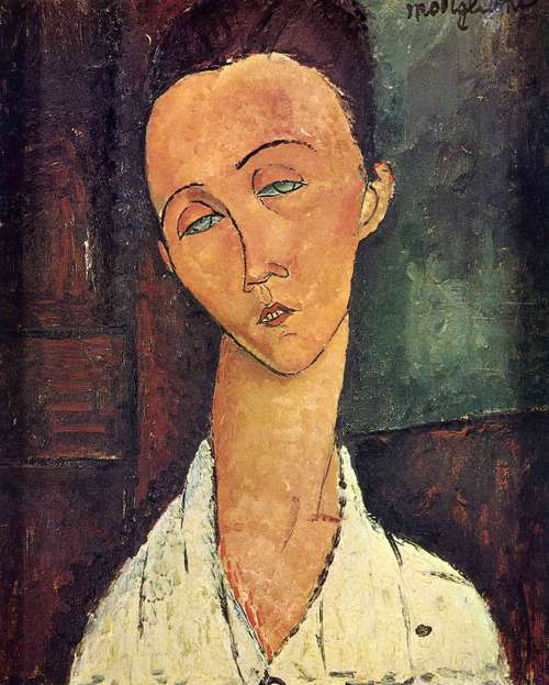 Portrait of Lunia Czechowska - Amedeo Modigliani - WikiArt.org at www.wikipaintings.org via Google Images