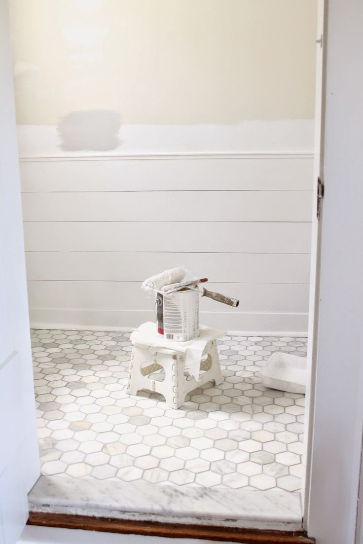 3x3 hex carrera tile from the tile shop simple grout for Bathroom design 3x3