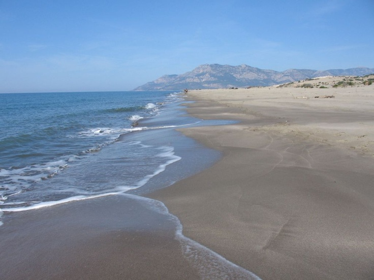 Patara beach - in the world's top 10 for sure