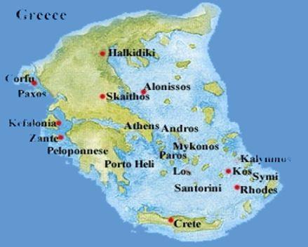 Mykonos, Santorini, Crete....Greece