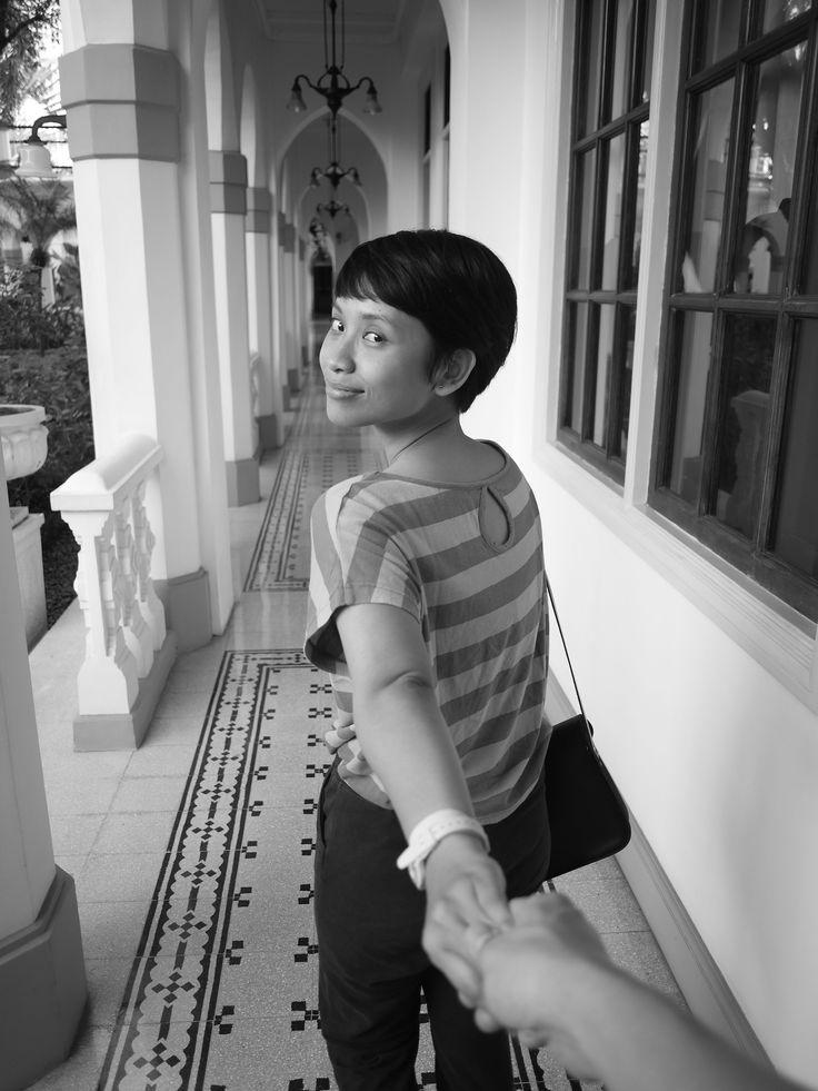 Anne at Majapahit Hotel, Jul 2015