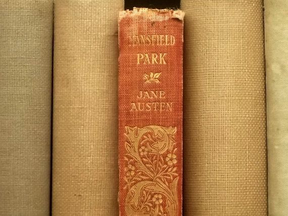 illustrated Mansfield Park by Jane Austen by EAGERforWORD on Etsy, £45.00
