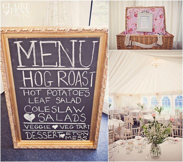 A rustic marquee wedding in Pembrokeshire – Liz