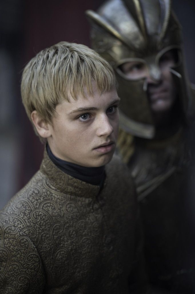 King Tommen Baratheon is a major character in the fifth and sixth seasons. He initially appeared as a recurring character in the first, second and fourth seasons. He is portrayed by starring cast member Dean-Charles Chapman, taking over the role (starting in Season 4) from Callum Wharry, who played the character briefly in Seasons 1 and 2. Tommen is the younger brother of late King Joffrey and Princess Myrcella, and Joffrey's heir presumptive to the Iron Throne. Though legally the son of…
