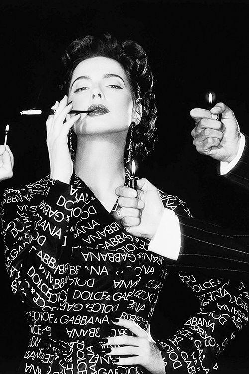 Isabella Rossellini by Michel Comte, 1995.