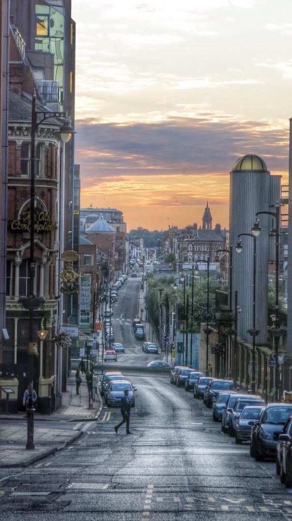Livery Street Birmingham UK.