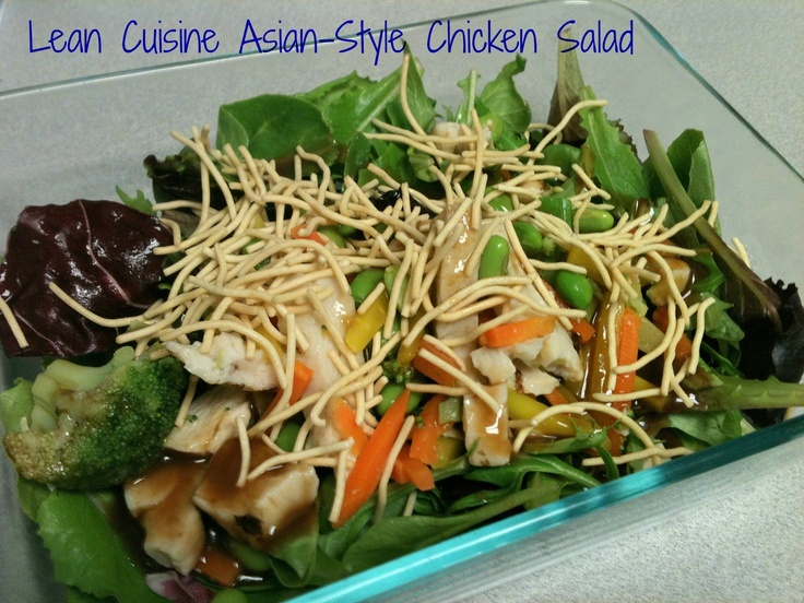 1000 images about salad additions on pinterest for Are lean cuisine meals good for you