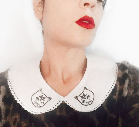 Jessicka Addams - Pentacat Collar