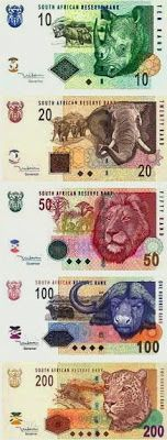 Banknotes of south africa