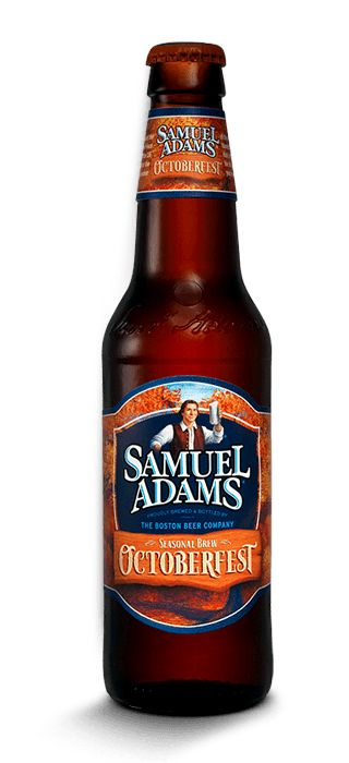 Sam Adams Octoberfest...My favorite fall beer